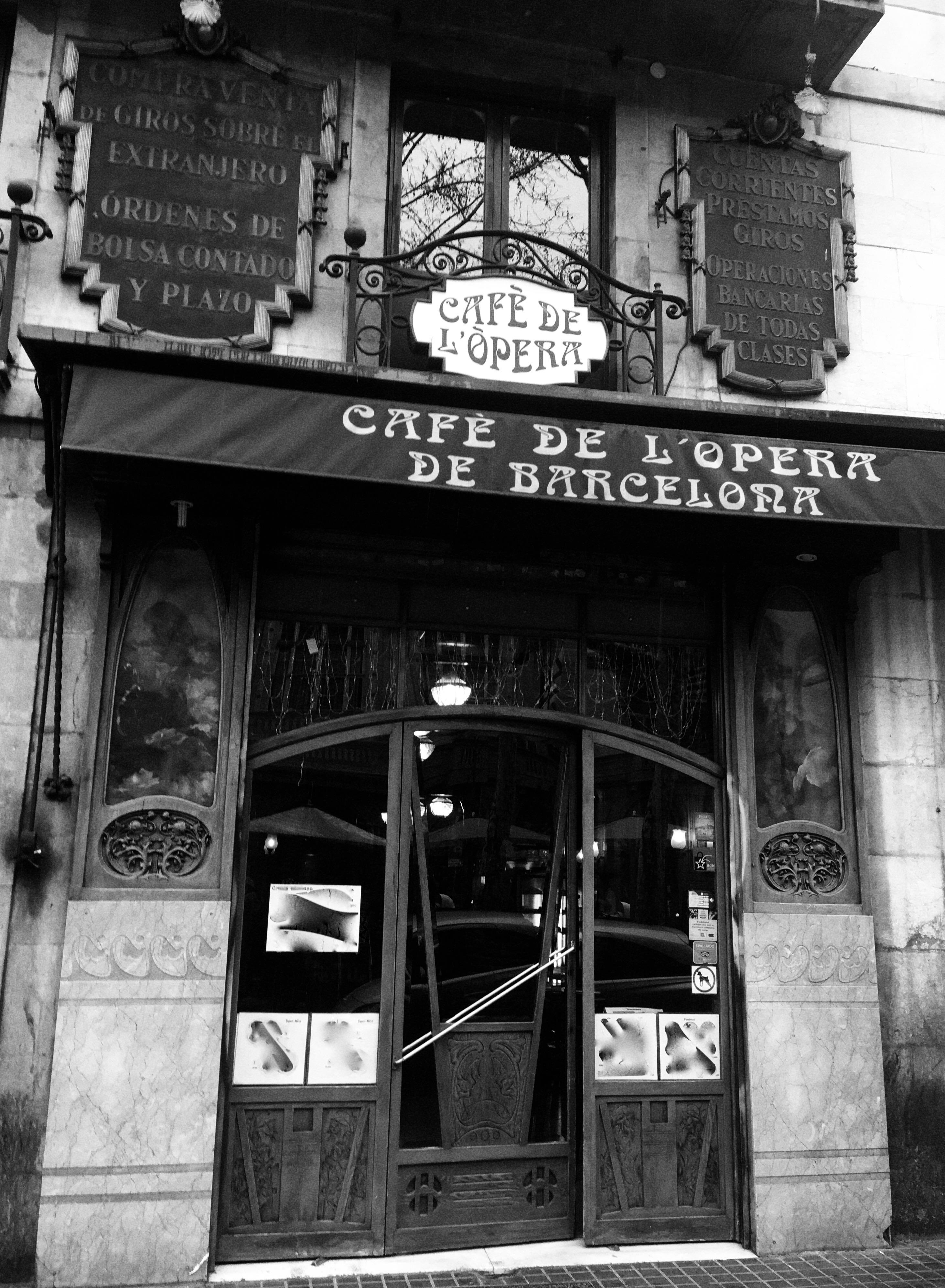 CAFE DE L'opera de BCN